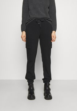 comma - HOSE - Jogginghose - black
