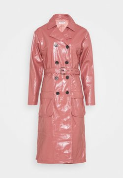 Glamorous - MIDI - Trenchcoat - rose pink