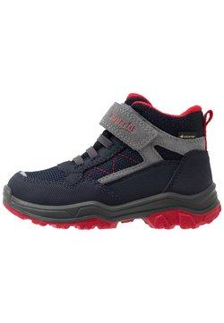Superfit - JUPITER - Korte laarzen - blau/rot