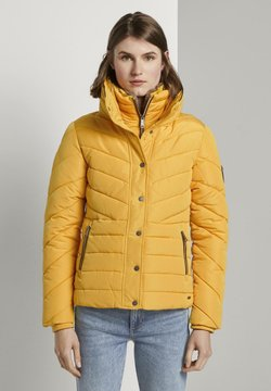 TOM TAILOR - MIT FELLKRAGEN - Winterjacke - star shine yellow