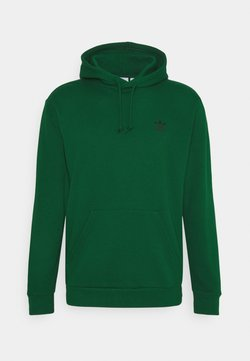 adidas Originals - ESSENTIAL HOODY UNISEX - Hoodie - dark green