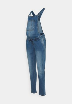 MAMALICIOUS - MLSUNRISE COMFY OVERALL - Dungarees - medium blue denim