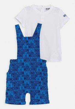 MOSCHINO - DUNGAREE SET - T-shirt basic - blue