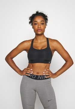 Nike Performance - ALPHA BRA - Sport BH - black/white
