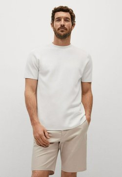 Mango - Camiseta básica - white