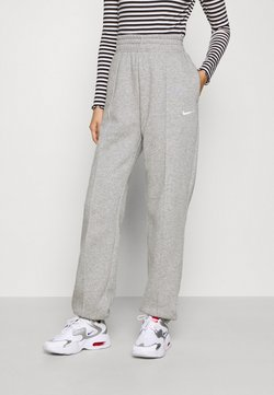 Nike Sportswear - PANT TREND - Jogginghose - dark grey heather/matte silver/white