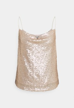 Nly by Nelly - DRAPED - Top - champagne