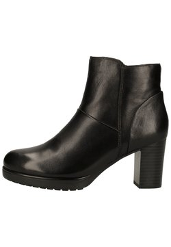Caprice - Ankle Boot - black soft nap