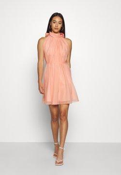 YAS - YASLONDON HALTERNECK DRESS SHOW - Cocktailkleid/festliches Kleid - cantaloupe