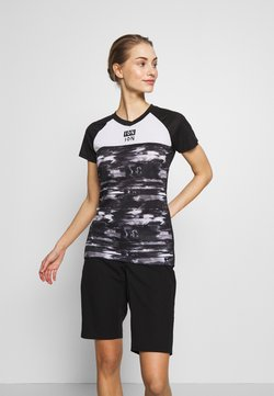 ION - TEE SCRUB AMP DISTORTION  - T-Shirt print - black