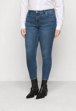 Pieces Curve - PCLILI - Jeans slim fit - medium blue denim