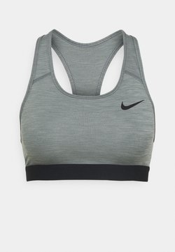 Nike Performance - BAND BRA NON PAD - Sport-BH mit mittlerer Stützkraft - smoke grey/pure/black