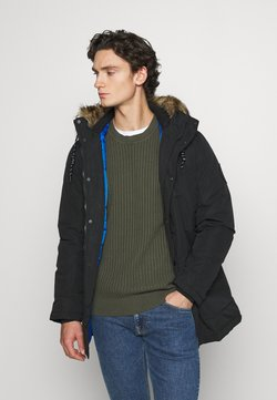 Jack & Jones - Wintermantel - black