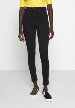 Topshop Tall - JAMIE CLEAN - Jeans Skinny Fit - black