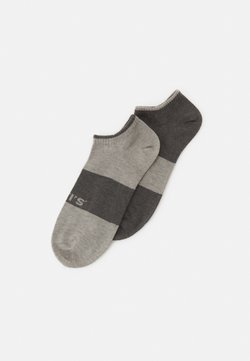 Levi's® - LOW CUT 2 PACK UNISEX - Socken - grey combo
