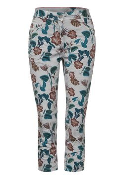 Cecil - CASUAL FIT - Jeans Shorts - grau