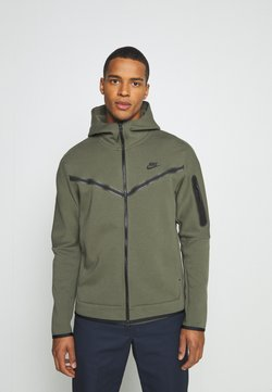 Nike Sportswear - HOODIE  - Gilet - twilight marsh/black