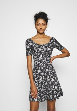 Even&Odd - Freizeitkleid - black/multi-coloured