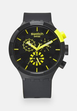 Swatch - RACING PLEASURE - Montre à aiguilles - black/yellow