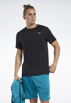 Reebok - WORKOUT READY TECH TEE - T-Shirt basic - black