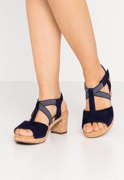 Gabor Comfort - Sandalen met plateauzool - bluette