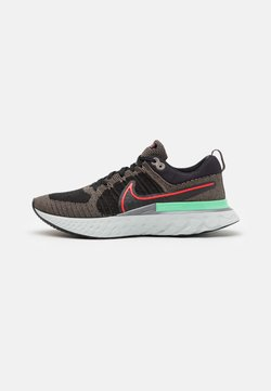 Nike Performance - REACT INFINITY RUN FK 2 - Zapatillas de running neutras - ridgerock/chile red/black/green glow