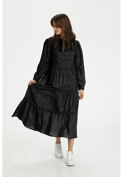 Cream - Vestido largo - pitch black