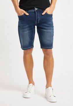 Bruno Banani - Jeans Shorts - dark blue denim