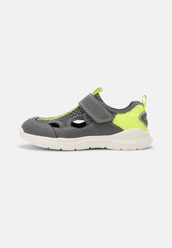 Superfit - FLASH - Sneaker low - grau/gelb