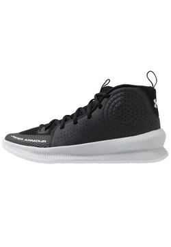 Under Armour - UA JET - Zapatillas de baloncesto - black / halo gray / halo gray