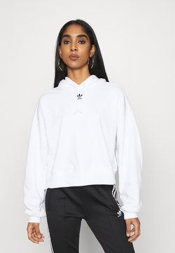 adidas Originals - HOODIE - Bluza z kapturem - white
