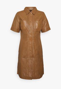 YAS - YASLIVANA DRESS - Blousejurk - rubber