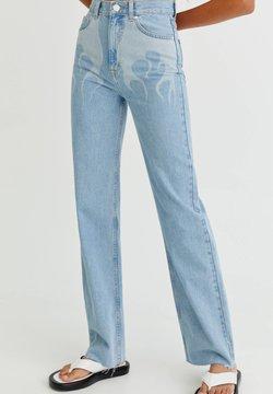 PULL&BEAR - Straight leg -farkut - light blue