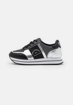 KARL LAGERFELD - VELOCITA MAISON LACE - Sneaker low - black/silver