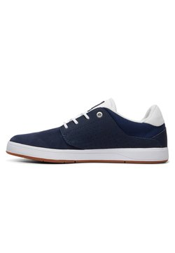 DC Shoes - PLAZA - Sneakers laag - dc navy/white
