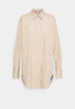 ARKET - SHIRT - Hemdbluse - beige/white
