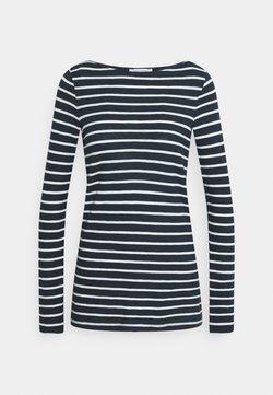 Marc O'Polo - LONG SLEEVE BOAT NECK - T-shirt à manches longues - dark night