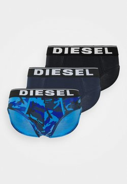 Diesel - ANDRE 3 PACK - Slip - blue/black