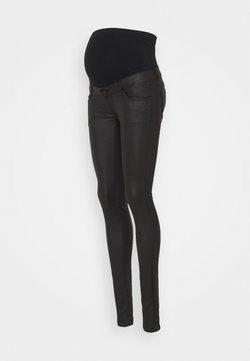 MAMALICIOUS - MLSANTOS - Slim fit jeans - black denim