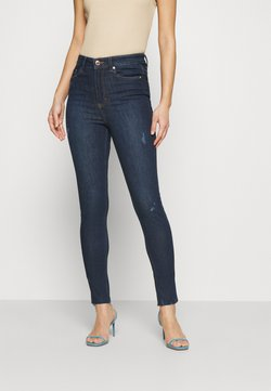 Marks & Spencer London - IVY - Vaqueros pitillo - dark blue denim