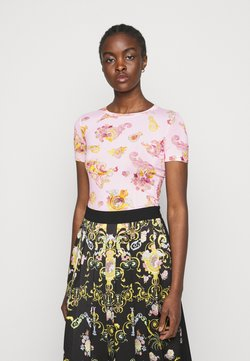 Versace Jeans Couture - LADY - T-Shirt print - pink confetti