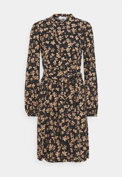 Moss Copenhagen - CALIA DRESS - Blusenkleid - black