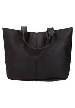 Gusti Leder - Shopping Bag - rostbraun