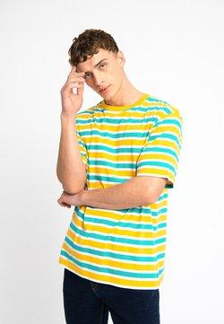 Urban Threads - OVERSIZED TEE UNISEX - Camiseta estampada - yellow