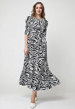 Madam-T - Ange - Maxikleid - weiß, schwarz