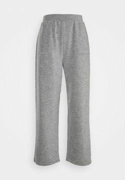 ONLY - ONLDENISE LOUNGE PANT - Jogginghose - light grey melange