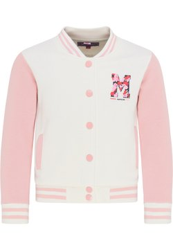 myMo KIDS - Vest - wollweiss rosa