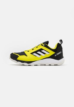 adidas Performance - TERREX AGRAVIC - Zapatillas de trail running - acid yellow/footwear white/core black
