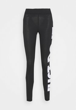 Nike Sportswear - Legging - black/(white)