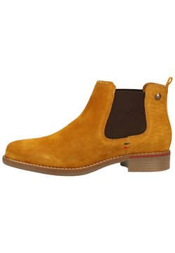 s.Oliver - Ankle Boot - mustard